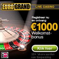 Eurogrand het mobiele casino van Nederland