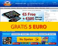 Gratis 5 euro Speelgeld - Allslots