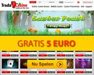 Gratis 5 euro Speelgeld - Tradacasino