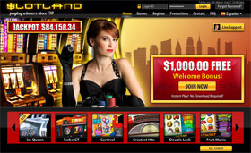 Go to Slotland Mobile Casino